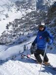 Charles V. Skiing